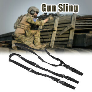 Gun-Sling-Rifle-Sling-Tactical-Quick-Detach-QD-1-2-Point-Multi-Mission-CA