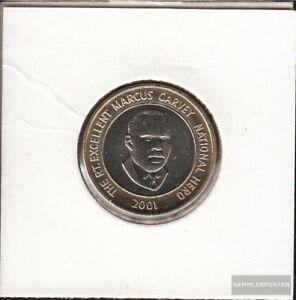 Jamaica-182-2001-Stgl-unzirkuliert-Bimetall-2001-20-Dollars-Marcus-Garvey