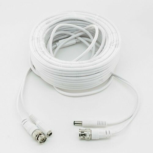WHITE PREMIUM 240FT BNC CABLE FOR SAMSUNG SYSTEM SDH-C5100 SDH-B3040