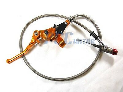 HYDRAULIC CLUTCH LEVER MASTER CYLINDER PIT BIKE MX V LV07