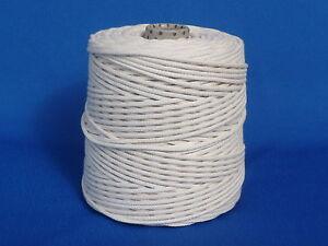 Baumwollseil 4 mm 100 m geflochten natur, BW Bastelschnur Kordel Baumwolle Seil