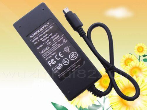 AC 100V-240V DC 12V 2A 5V 2A HDD Enclosure Case Power Supply Adapter 6 pin New