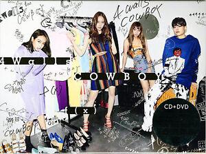F-X-4-WALLS-COWBOY-JAPAN-CD-DVD-D73