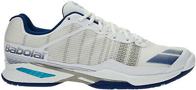 Babolat Jet Team All Court Wimbleton Tennis Shoes - White Speciale Zomerverkoop