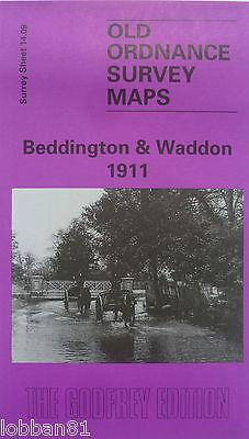Old Ordnance Survey Maps Ham Surrey 1911 Sheet 6.12 Godfrey Edition New