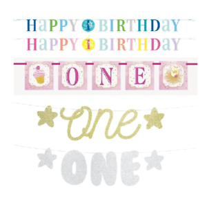 Happy-1st-Birthday-Banner-One-Bunting-Baby-Party-Decoration-Boys-Girls