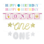 Happy-1st-Birthday-Banner-One-Bunting-Baby-Party-Decoration-Boys-Girls thumbnail 1