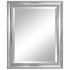 Bathroom Wall Mirror Glass Decor Beveled Frame Decorative Mount Vanity Large