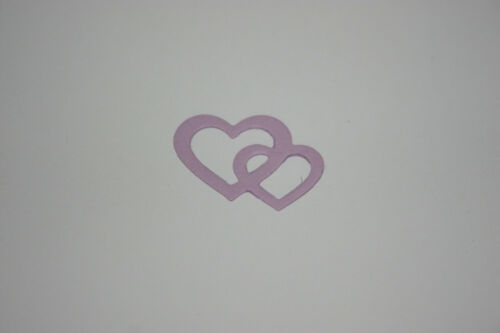 Entwined Hearts Die Cuts 10pk 2.5x2cm Scrapbooking Card Making Craft Journal