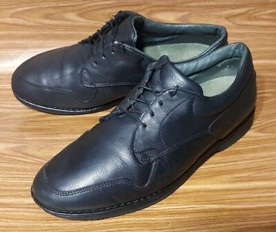 dexter made in usa casual oxford black vibram sole mens