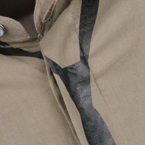 Neil BARRETT SLIM FIT SKINNY TIE stampa kaki cotone aderente aderente aderente camicia 16.5 prezzo consigliato  162b2f
