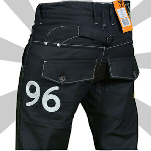 sale g star raw 96 mens heritage embro black jeans 70. Black Bedroom Furniture Sets. Home Design Ideas