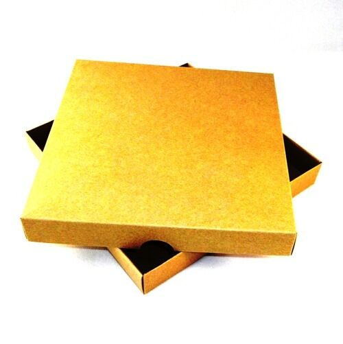 8x8 braun Kraft Greeting Card Boxes, Gift, Free Delivery. Colourot. Choose Qty