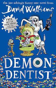 Demon-Dentist-Hardcover-amp-Gangsta-Granny-Paperback-David-Walliams-Used-Go