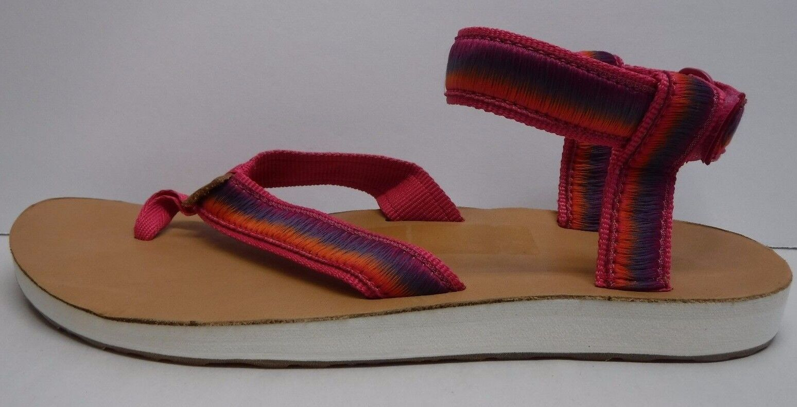 Teva Size 8 Raspberry Sandals New Donna Shoes