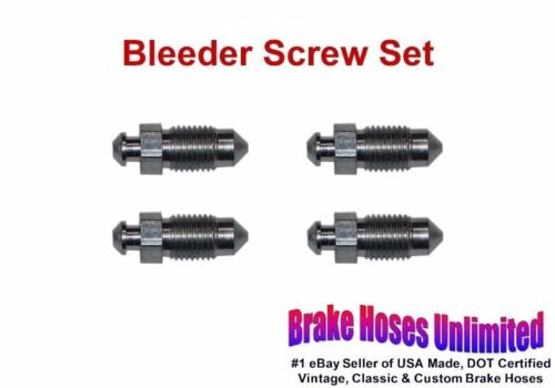 BLEEDER SCREW SET REO Cars 1928 1929 1930 1931 1932 1933 1934 1935 1936
