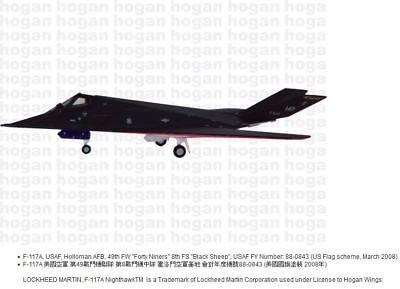 Aggressors T-38A 1:200 Hogan Wings 7365 NV Nellis AFB USAF 64th FWS