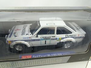 01:18 Sun Star # 4434 Ford Escort Mk.ii Rs1800 1977 Course Lombard Lombard # 1 Rare §