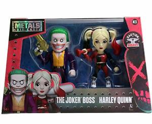 Suicide-Squad-97571-4-Inch-Joker-and-Harley-Quinn-Figure-Pack-of-2-Jada-Metals