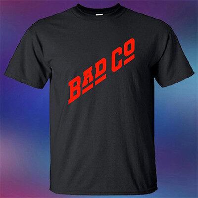 New BAD COMPANY BAD CO English Rock Band Logo Men/'s Black T-Shirt Size S-3XL