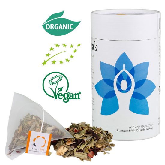 Throat Chakra Tea - I speak -  Be Better Pyramid Teabags 15x2g