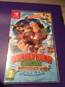 Nintendo-1x-Donkey-Kong-Tropical-Freeze-NEW-REPLACEMENT-Case-Display-Box