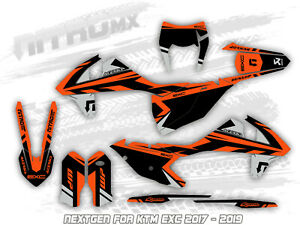 NitroMX Graphic Kit for KTM EXC EXC-F 125 250 300 350 450 2014 2015 2016 Enduro