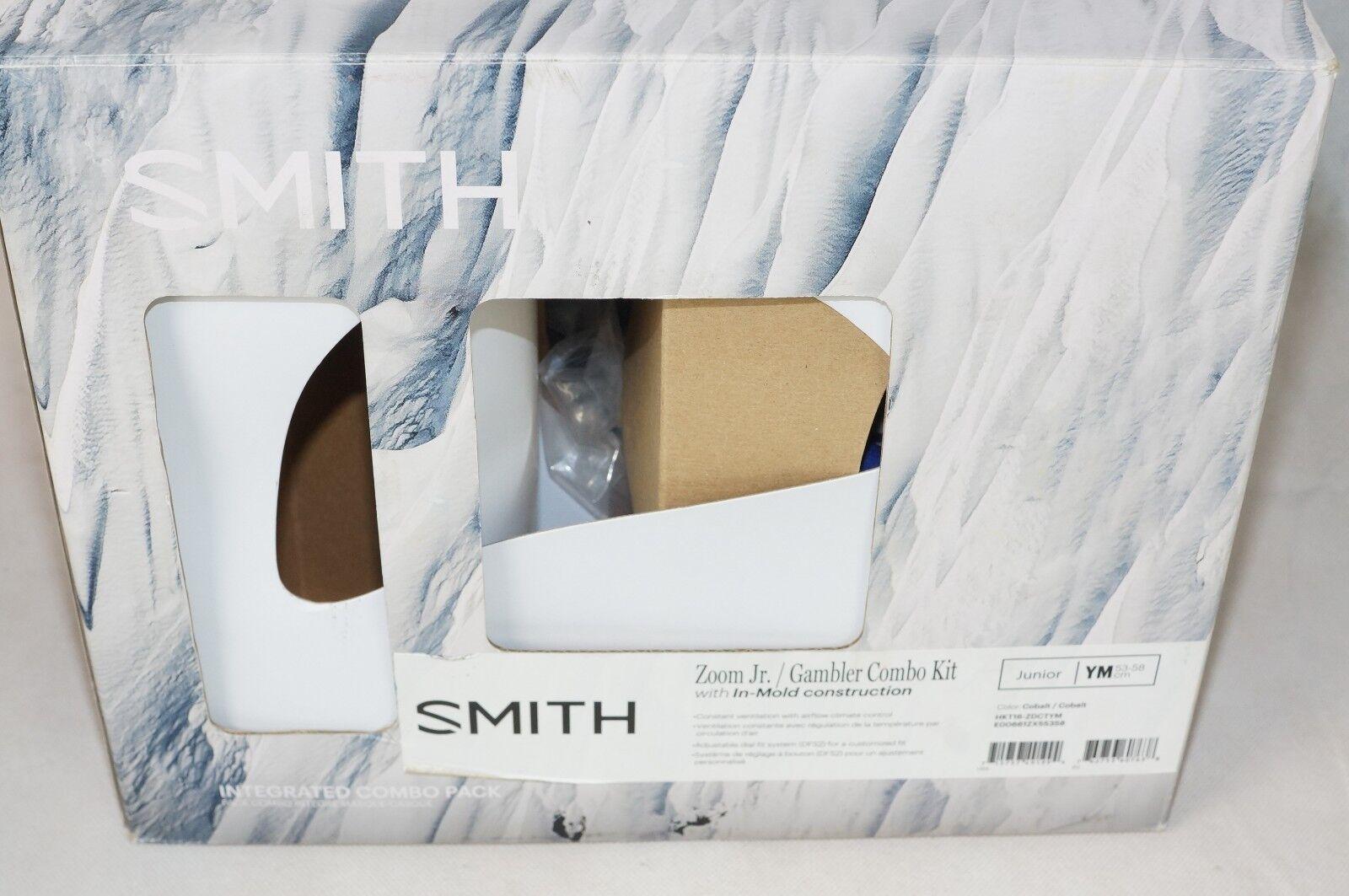 SMITH Kinder Skihelm Brille Gambler Combo X Combo Gambler Gr. 53-58 cm EP15.638 dec4c7