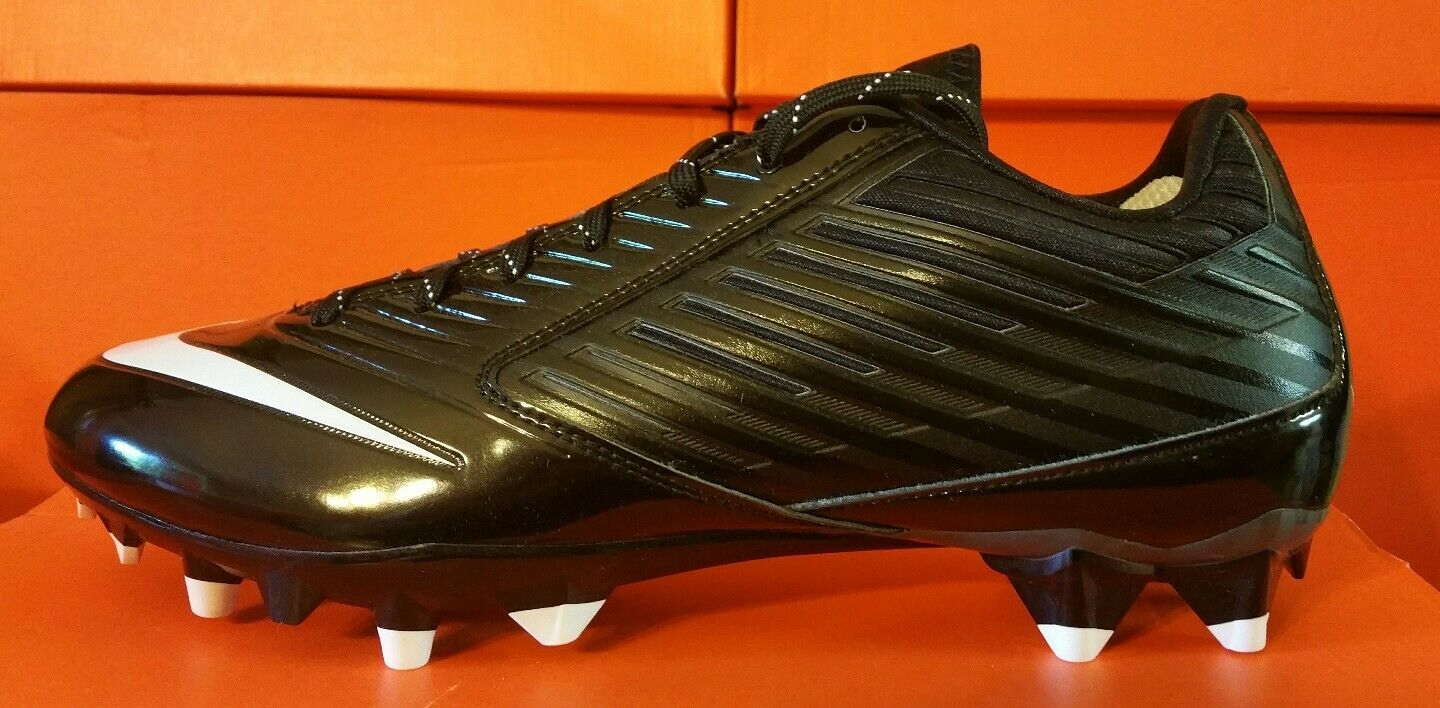Cheap and beautiful fashion NEW Nike Vapor Speed Low TD Black/White Mens Football Cleats 10.5, 11.5, 13, 16