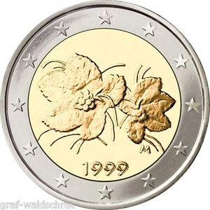 2 Euro Finlandia A Partire Dal 1999 Tutti Anni Unc A Libera Scelta