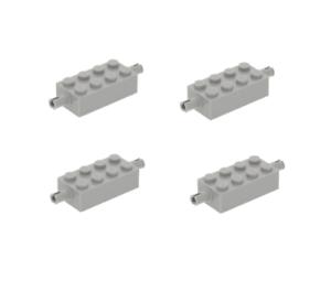 6249  LEGO® 4x Stein 2x4 mit Radhaltern 4211676