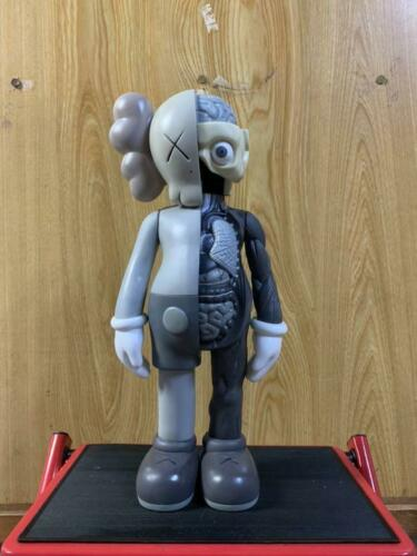 KAWS 40cm Figure Medicom Toy Art Toy Collectible-gray