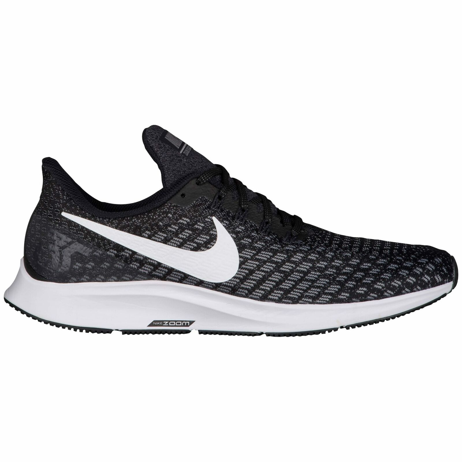 Nike Air Zoom Pegasus 35 Men's Black White Gunsmoke Oil Grey 42851001