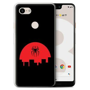Gel-TPU-Case-for-Google-Pixel-3-XL-Minimalist-Movie-Art-Spider-Inspired