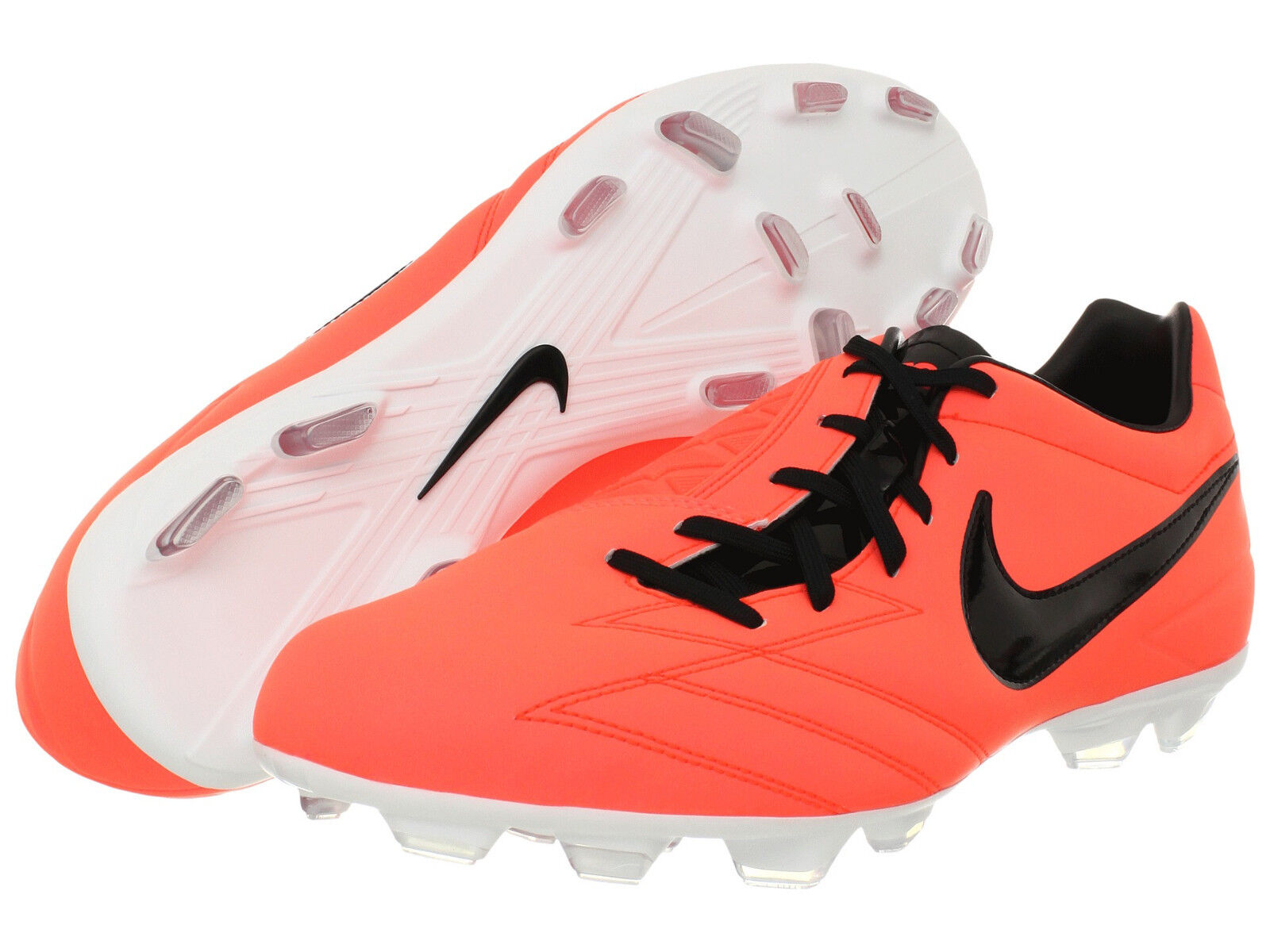 Nike Total 90 Shoot IV FG Soccer shoes 2011 Brand New Mango   Black