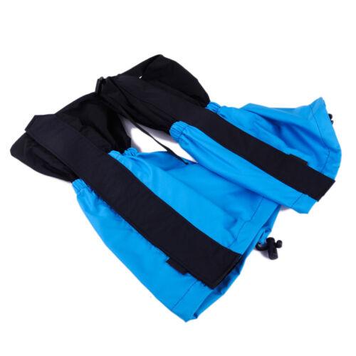 Pair Waterproof Outdoor Leg Gaiter Legging Snow Rain Climbing Walking Boot Cover