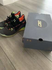 best sneakers 59904 93945 Details about Under armour Curry 6 Fox Theatre Size 8