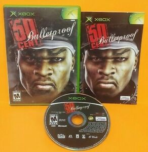 X-BOX-50-Cent-Bulletproof-Microsoft-Xbox-OG-Rare-Game-Complete-Working-Tested