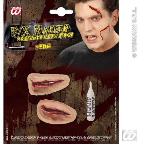 HALLOWEEN SFX 2 CUTS SFX for Trick Or Treat Cosmetics