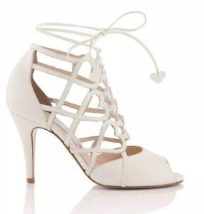 Charlotte Mills Bianca Wedding Shoes