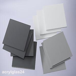 hart polyvinylchlorid pvc schwarz wei grau kunststoff platte trovidur neu ebay. Black Bedroom Furniture Sets. Home Design Ideas