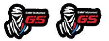 2 adesivi DAKAR BMW MOTORRAD GS stickers R1200 1150 1100 F800 F700 F650 F600 ADV