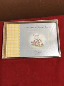 Carters Grandmas Brag Book Photo Album Blue And Yellow In Orignial
