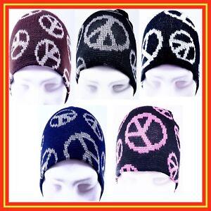Gorras-invierno-de-punto-simbolo-paz-de-hombre-o-mujer-trabajo-deporte-exterior