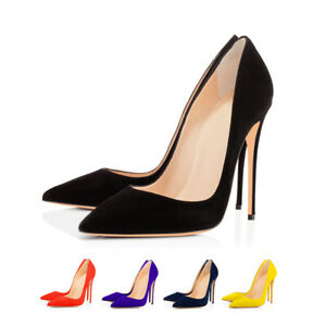 Onlymaker-Womens-Classic-Pointed-Toe-Sexy-High-Heel-Stiletto-Slip-On-Dress-Pumps
