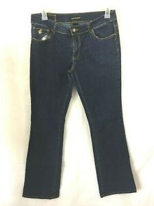 Rocawear-RW-womens-jeans-size-13-long-embroidered-back-pockets-36-x-35