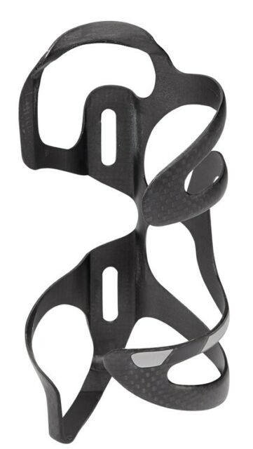 Whisky No.9 SEL Carbon Water Bottle Cage Left Side UD Matte Black