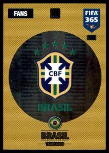 Panini fifa 365 cards 2017-329-Team logotipo-Team logotipo-Brasil