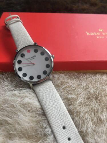 Kate Spade Watch Set Black And White Polka Dots