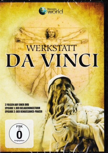 Discovery World - Werkstatt Da Vinci - DVD - Neu und originalverpackt in Folie